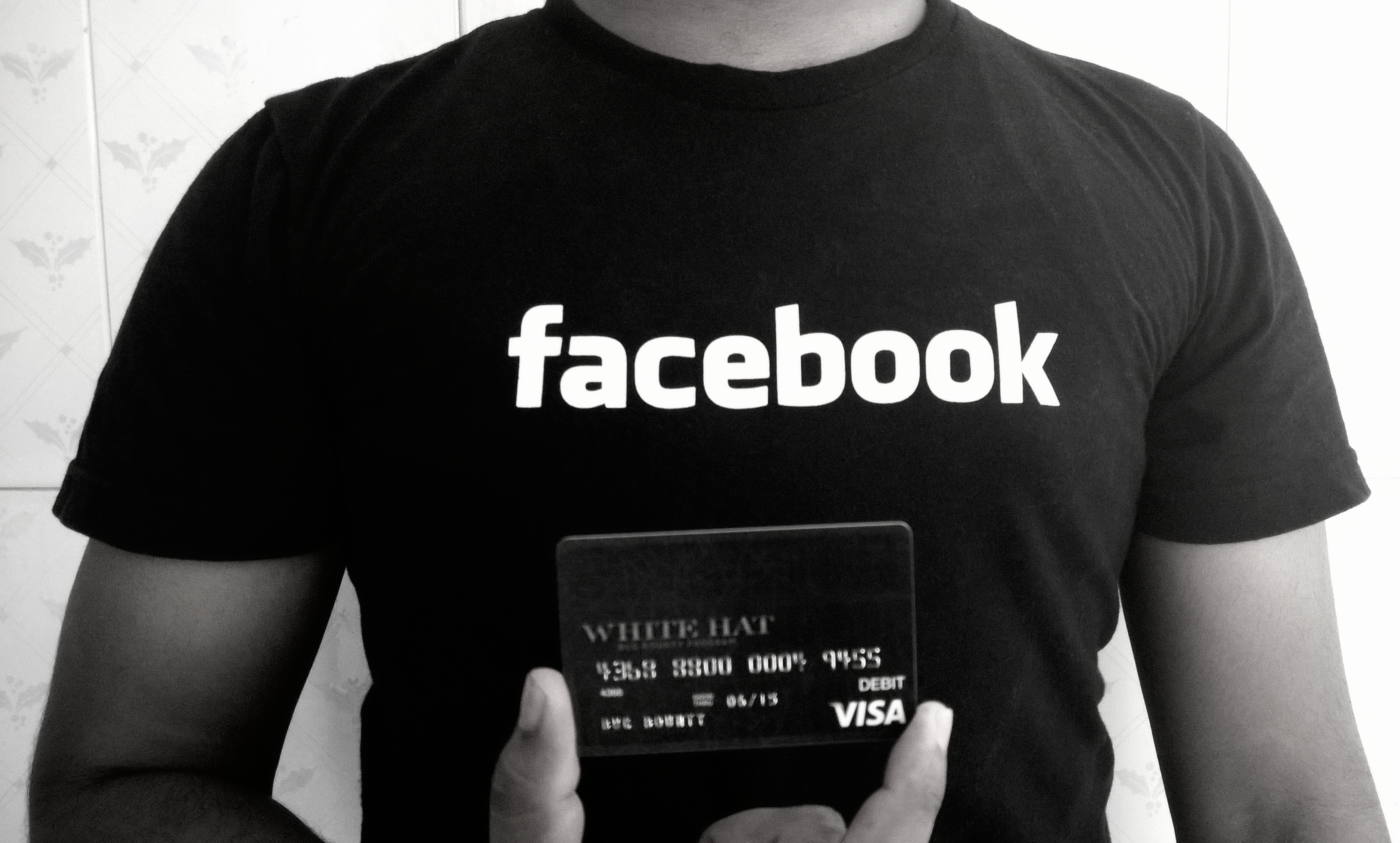 Facebook giving away T-shirts and debit cards to security researchers